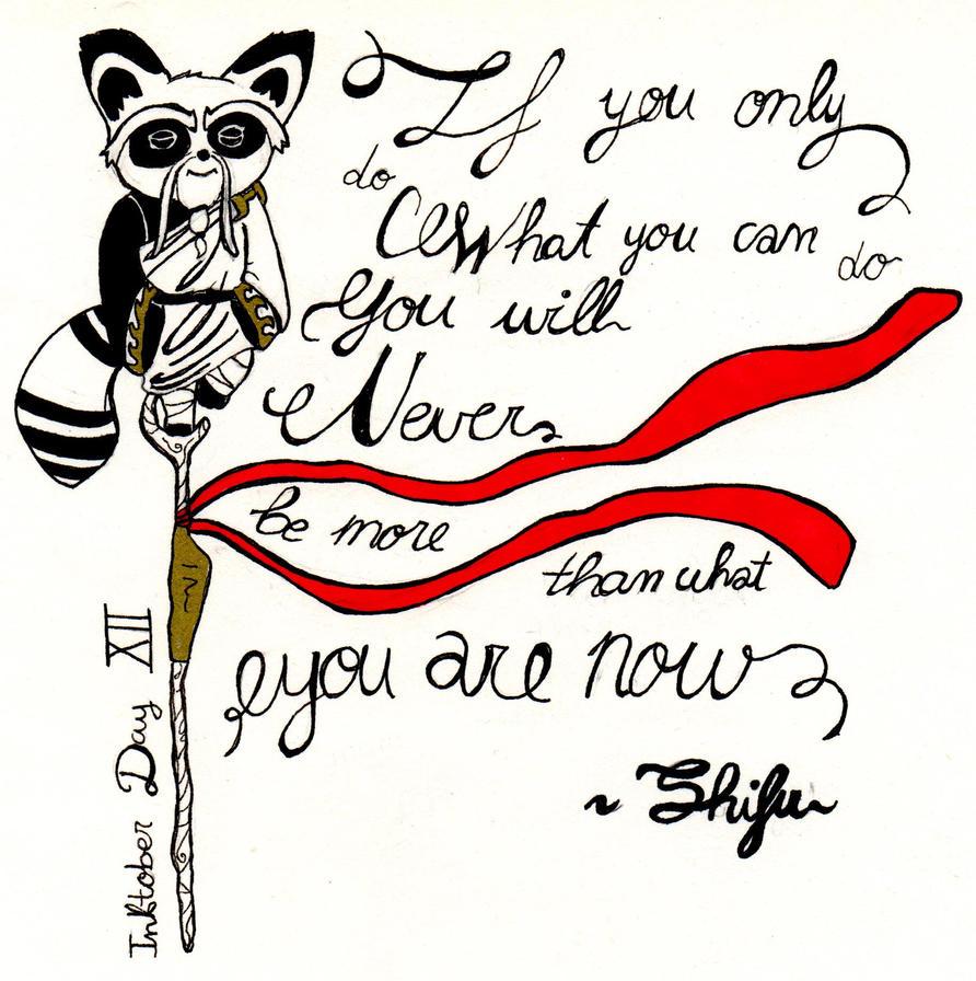 Sifu has talked - Inktober #12 by ReiBaal
