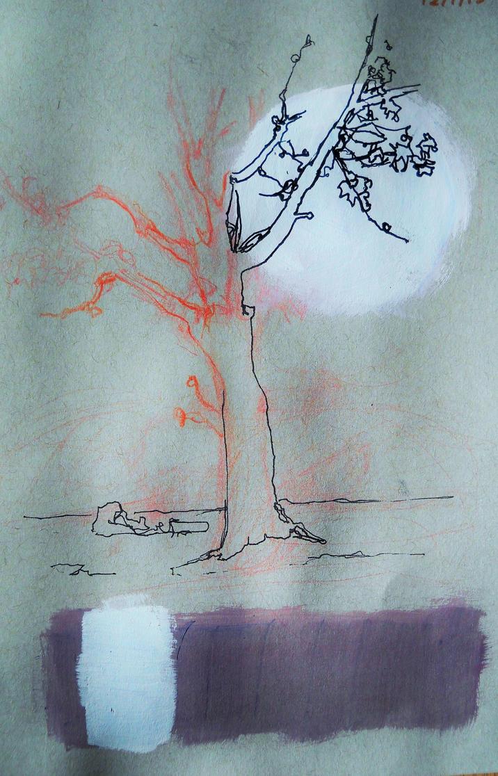 A Tree Obviously by KaterinARTadenev