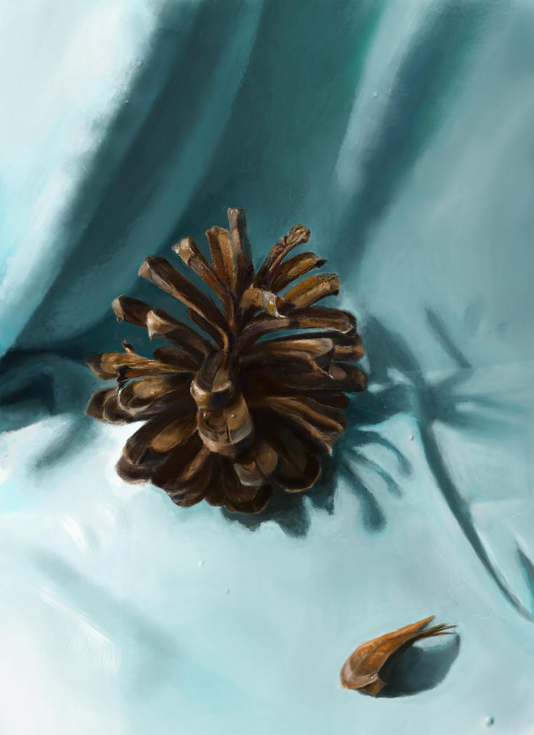 A Pinecone by KaterinARTadenev
