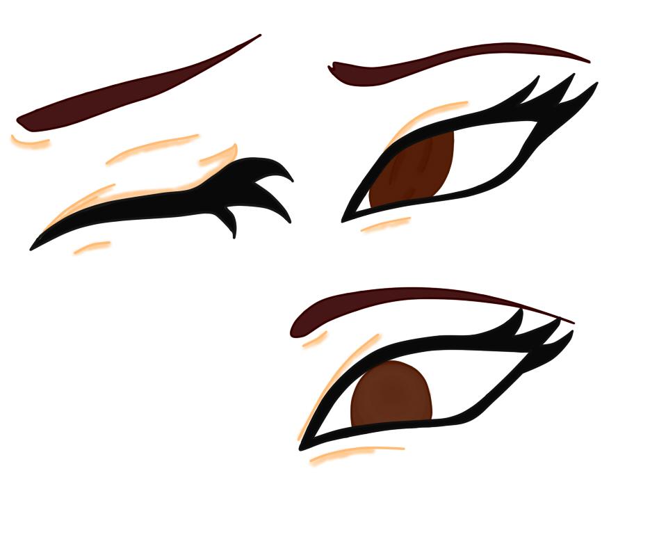 Tipos de ojos by milagrosanime