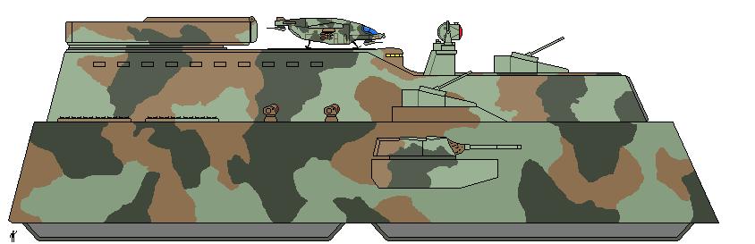 Mk.96 Land Battleship by Louisvillian