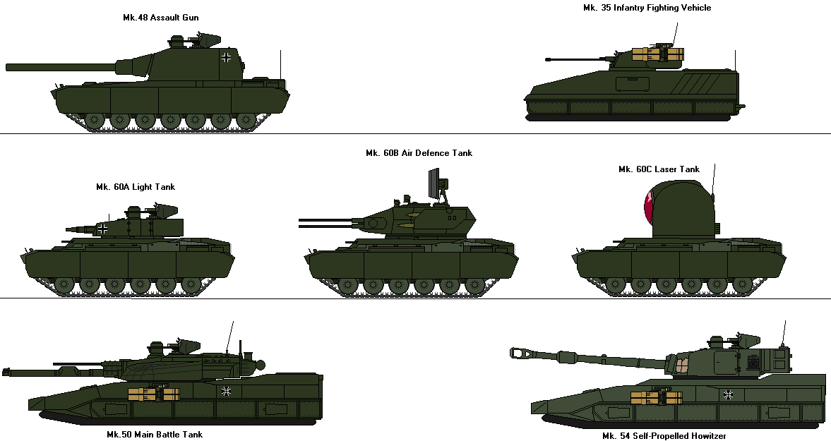 Armoured Fighting Vehicles by Louisvillian