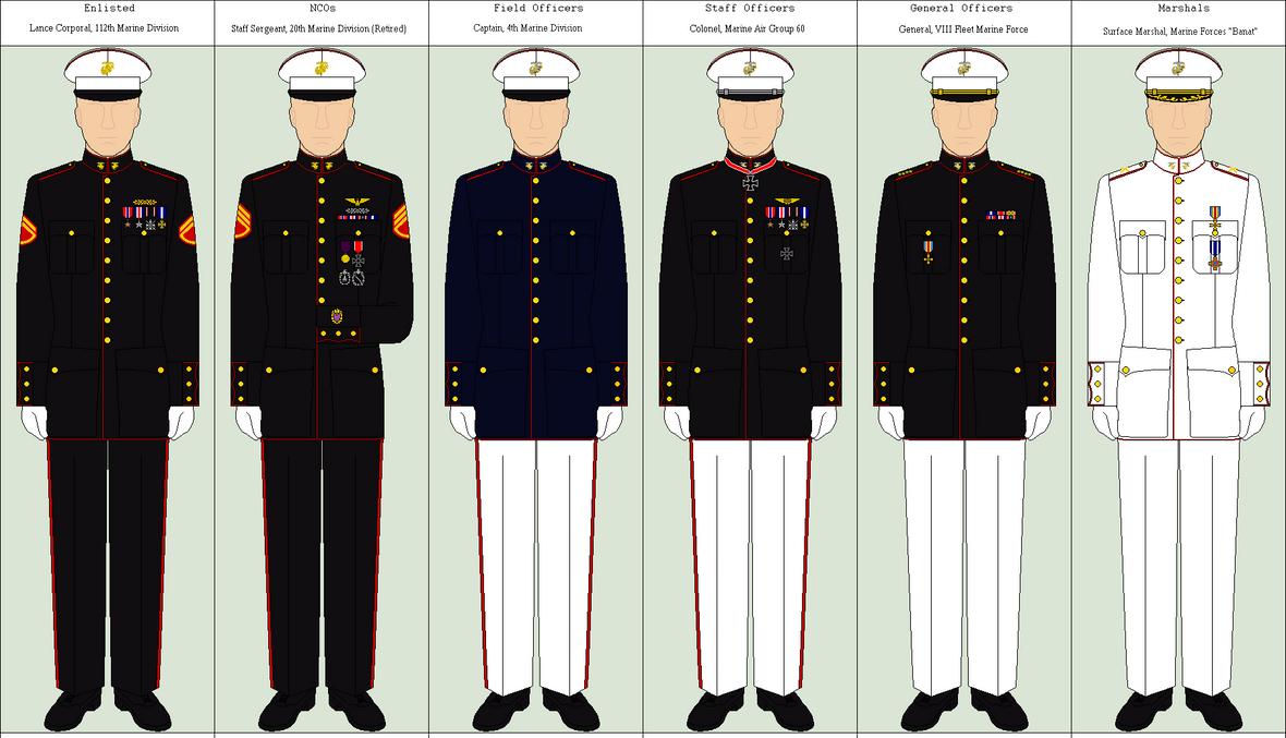 Marine Dress Uniform by Louisvillian on DeviantArt