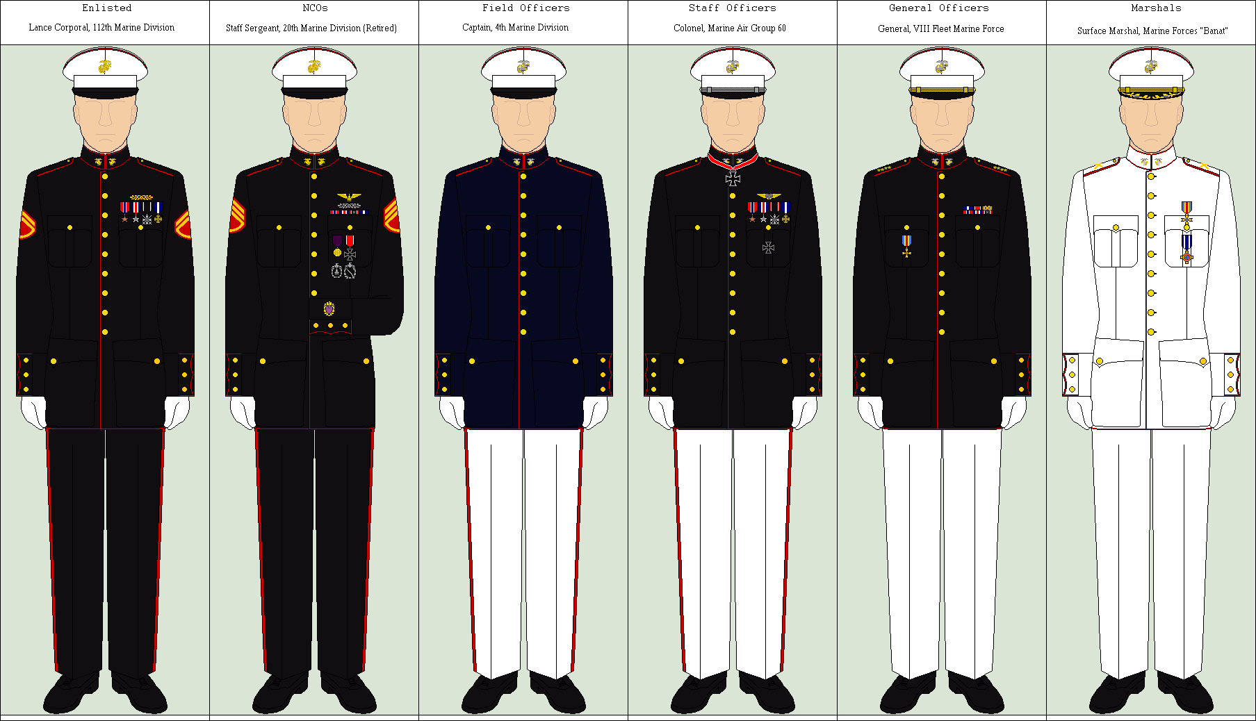 Marine Dress Uniform By Louisvillian On Deviantart