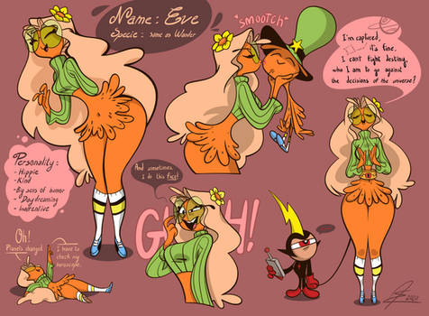 Oc Eve Wander Over Yonder