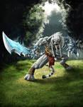 Azharel, Warrior Lion