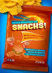Cartaz Snacks