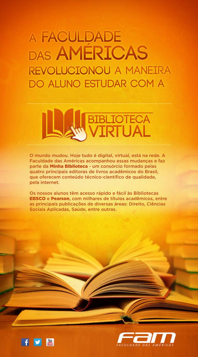 Painel Biblioteca Virtual