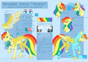 ~Rainbow Speed [Reference Sheet] [Ponysona] [OC]~