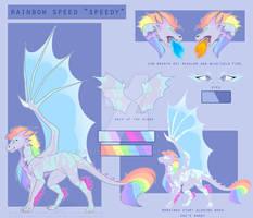 ~Rainbow Speed [Reference Sheet][Dragonsona][OC]~