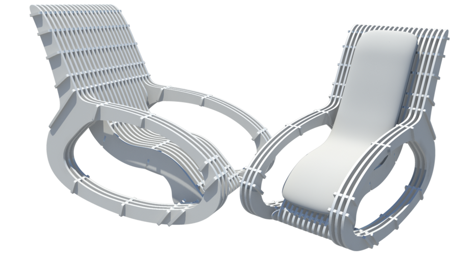 Puzzle Rocking Chair Concept by MishraFathom on DeviantArt