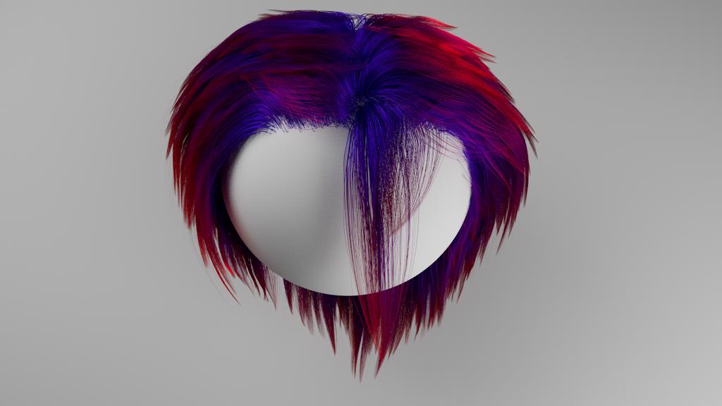 Hair Test2 by MishraFathom