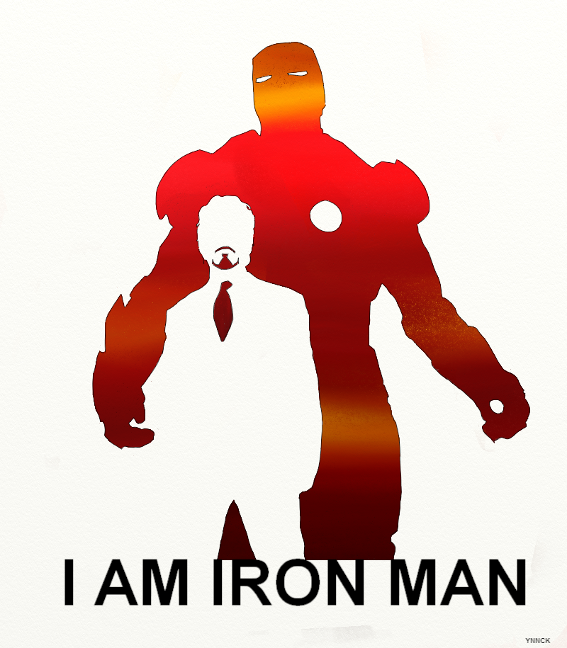 I Is For Iron ~ I am iron man avengers by ynnck on deviantart