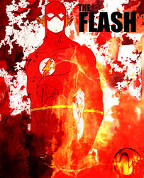 FLASH : JUSTICE LEAGUE by Ynnck