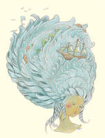 sea of curls by golden-quince