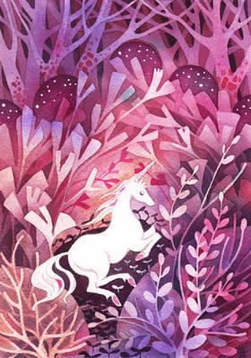 Rose Dusk Unicorn