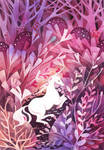 Rose Dusk Unicorn