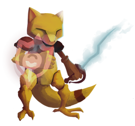 Magic Swordsman Abra by Fuzzyspirit