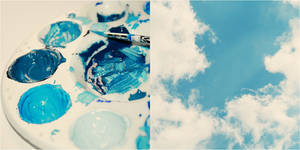 Paint the sky blue