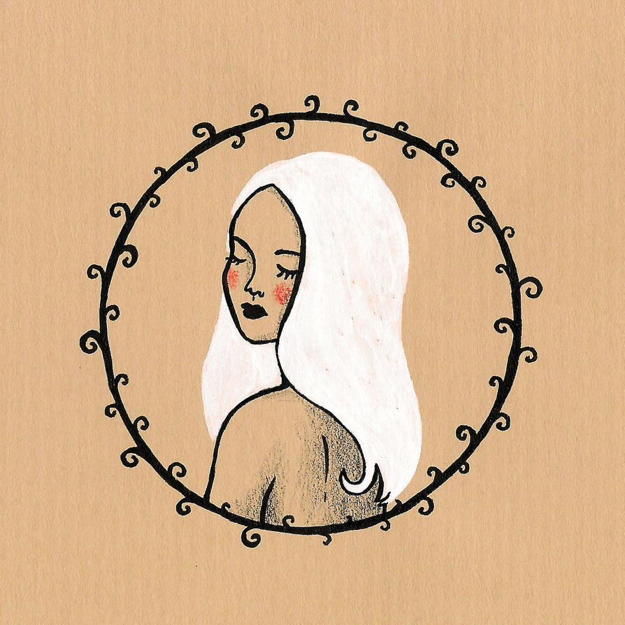 Melancholic girl II by stardixa