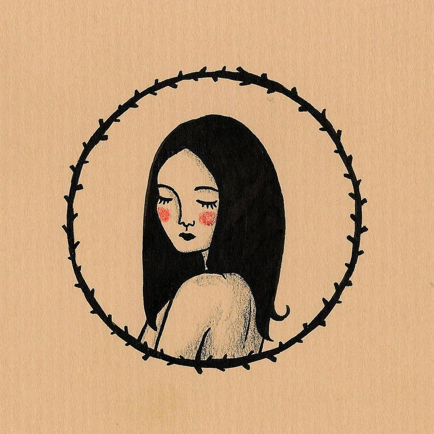 Melancholic girl III by stardixa