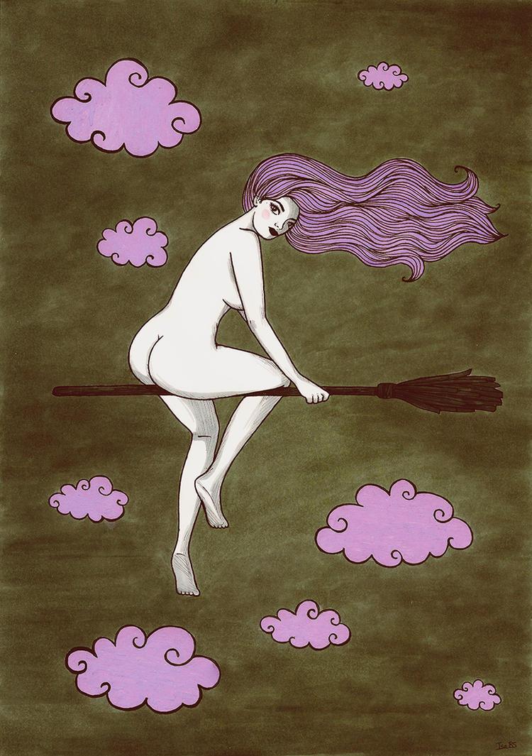 Witch by stardixa