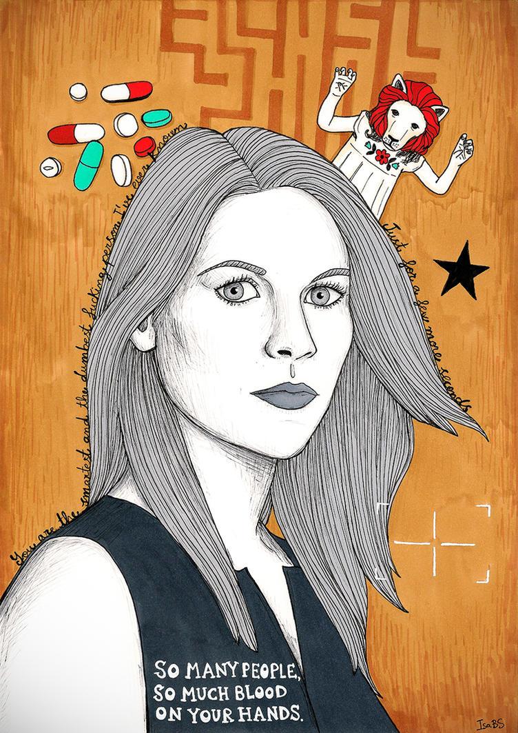Carrie Mathison by stardixa