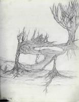 Deranged Treeroots by msl911