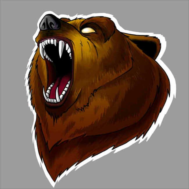 Bear by tin-sulwen