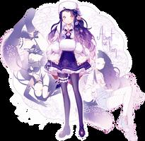 [CLOSED] ADOPT AUCTION - Floral Dream II by MiiaChuu