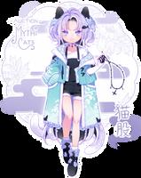 [CLOSED] ADOPT AUCTION - Nekomata by MiiaChuu