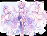 [CLOSED] ADOPT AUCTION - Fluttercorn Guest Design by MiiaChuu