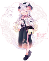 [CLOSED] ADOPT AUCTION - Floral Witch by MiiaChuu