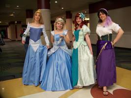 Megacon 2010- Disney Gals by Cadebee