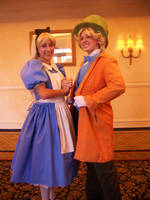AFO 2010- Alice and Hatter by Cadebee