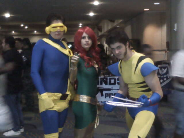 Megacon '11- X-Men by Fruits-Punch-Samurai
