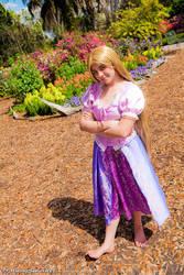 Rapunzel Unbraided by Cadebee