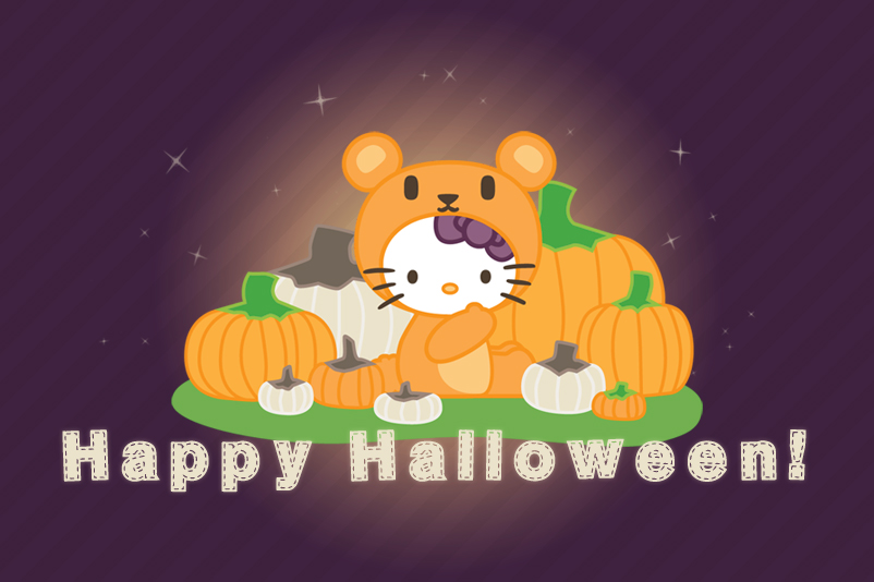 Hello Kitty x Halloween and Autumn by hunnyflash on DeviantArt