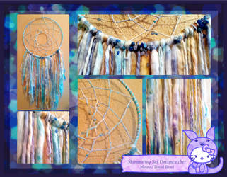 Shimmering Sea Dreamcatcher by hunnyflash