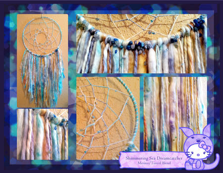 Shimmering Sea Dreamcatcher