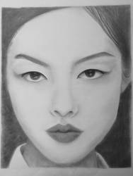 First Portrait - Fei Fei Sun