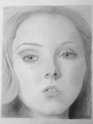 Lily Cole Portrait