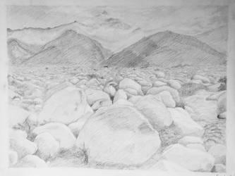 Ansel Adams Landscape by hunnyflash