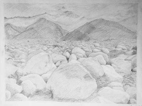 Ansel Adams Landscape