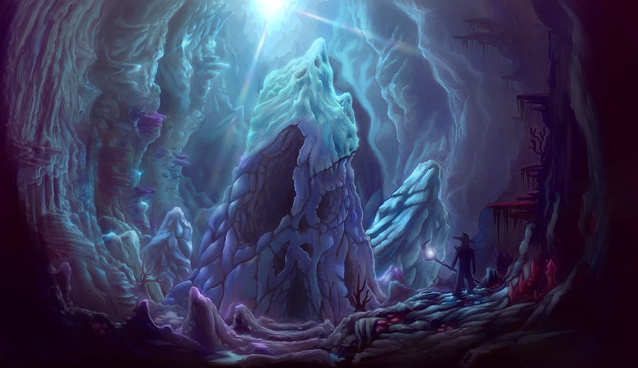 Seabed Dungeon by Torqbow
