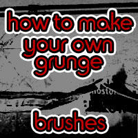 How 2 make grunge brushes by Ozzy-Song