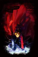 Edward Elric : Darkness by ZV-Goro