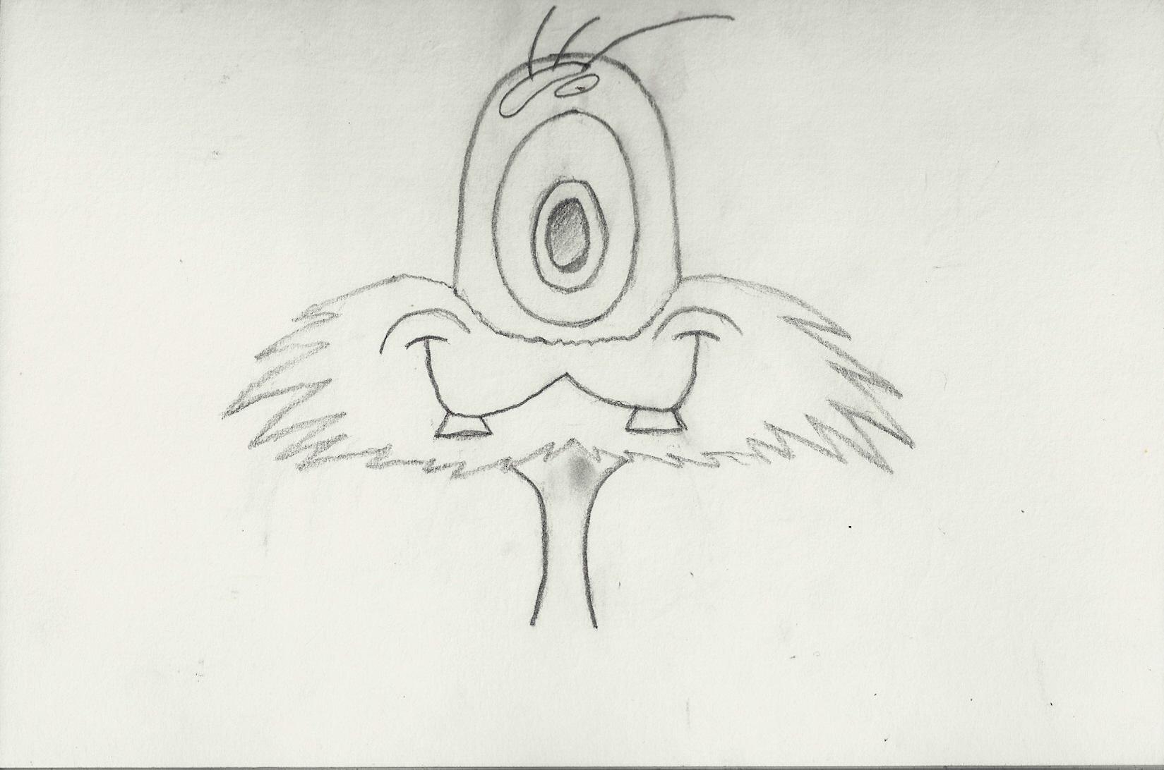 Happy Beard Alien by casper033