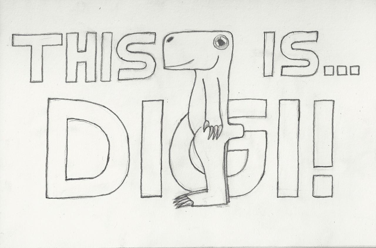 This is... Digi! - My OC =0 by casper033