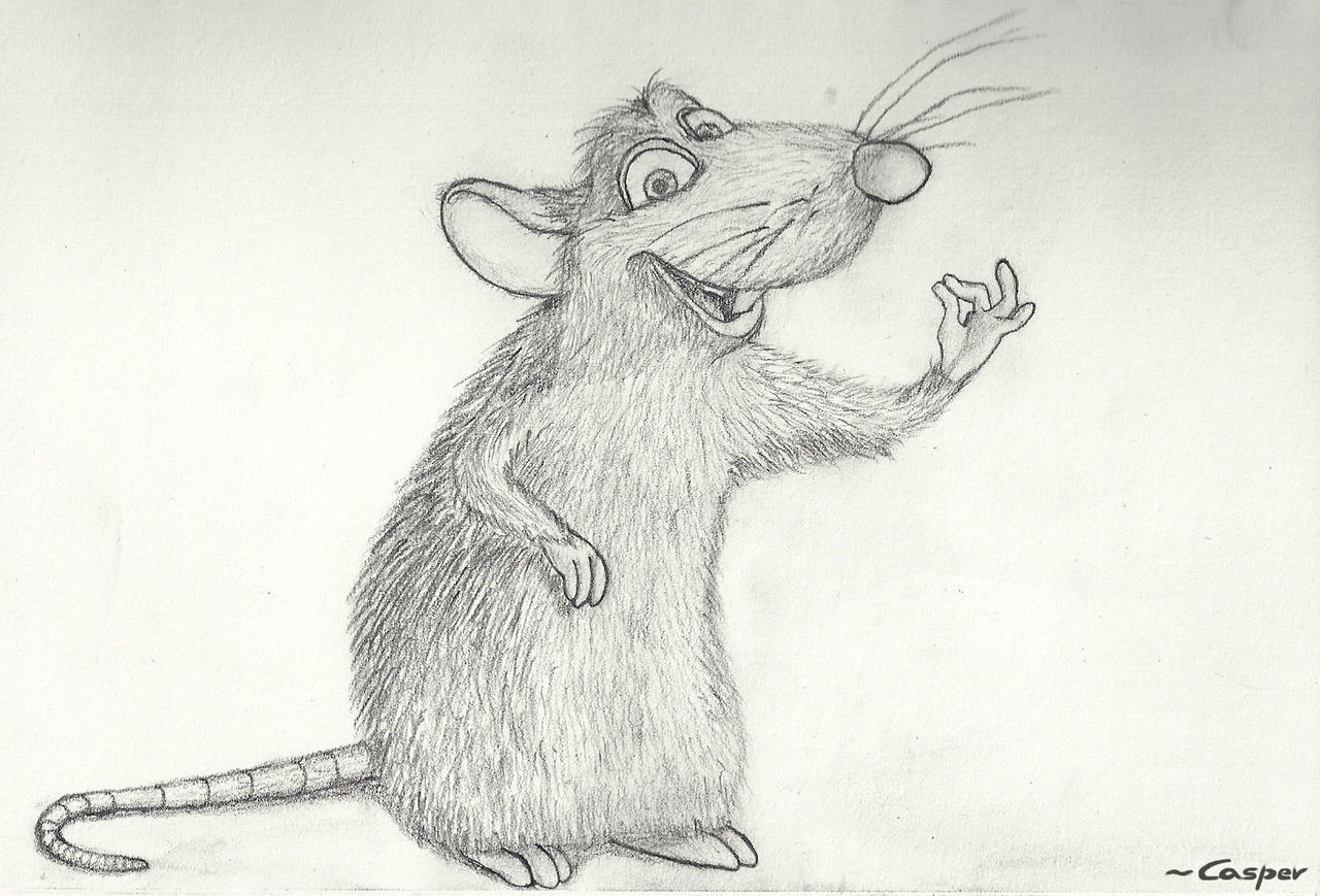 Remy - Ratatouille by casper033